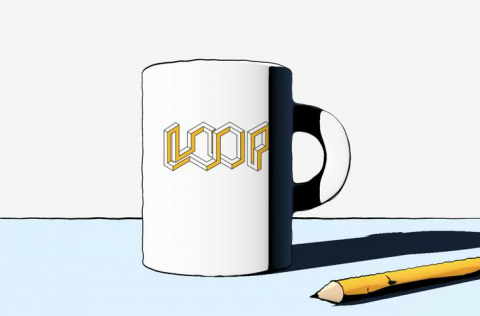 Visual-Connection Loops #1: Mug